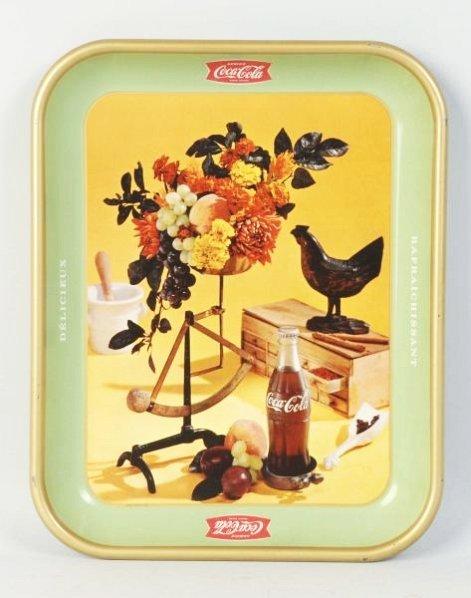 1957 Coca-Cola Tray.