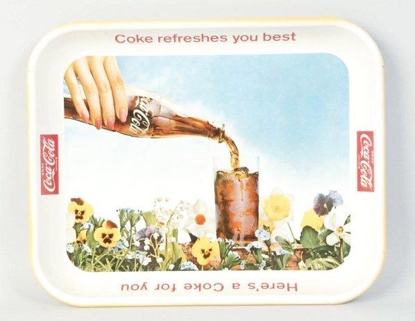 1961 Coca-Cola Tray.