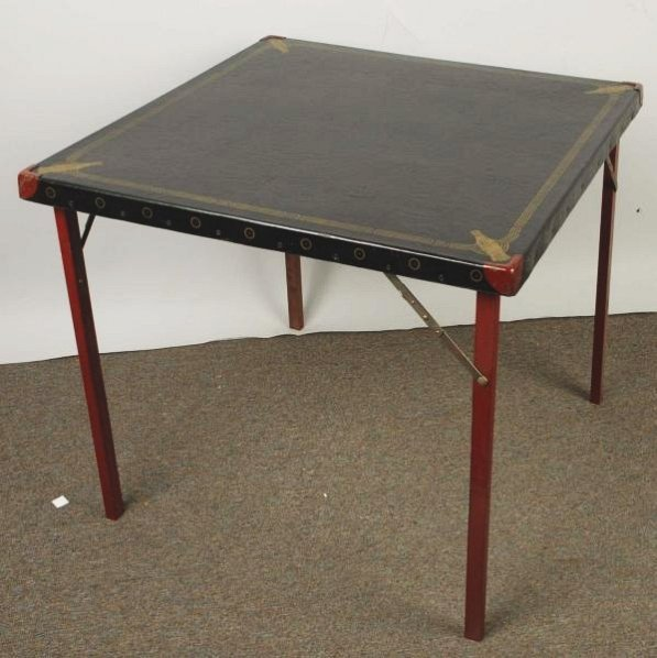Circa 1940 Coca-Cola Card Table.