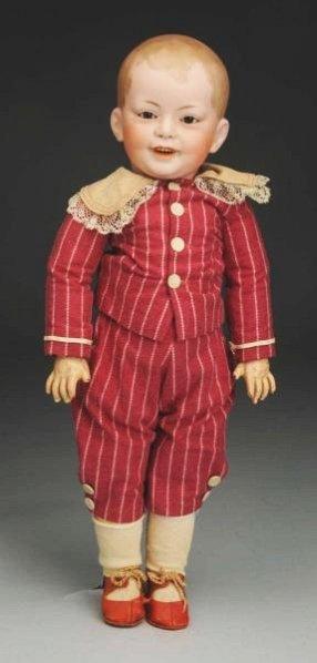 Smiling SFBJ 227 Character Doll.