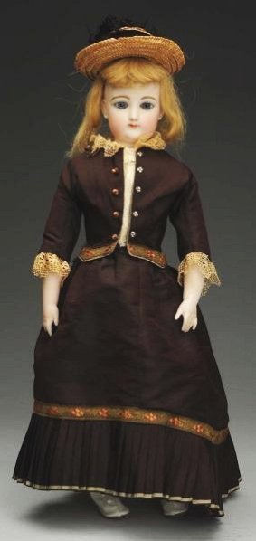 French Bisque Fashion Lady Doll.