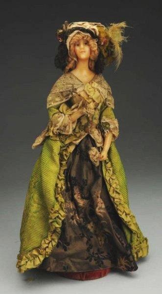 French Wax Fashion Doll.
