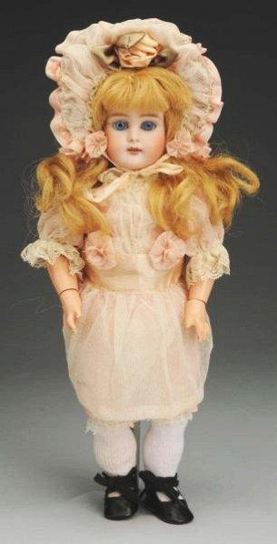 Delightful German Bisque Child Doll.