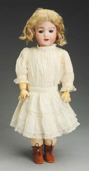 "Rare Gebr. Heubach ""Santa"" Doll."