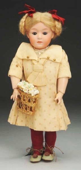 Pouty Heubach Character Doll.