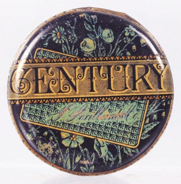 P. Lorillard's Century Tobacco Flat Tobacco Tin.