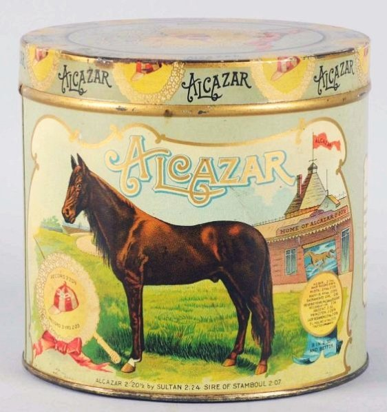 Alcazar Cigar Tin.