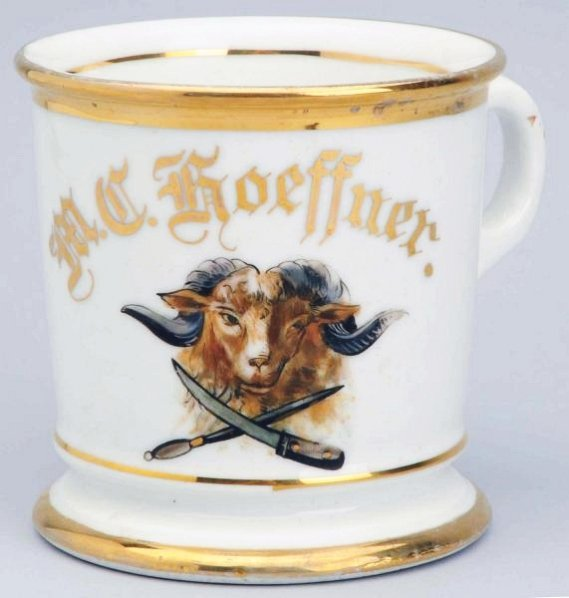 Butcher's Shaving Mug.