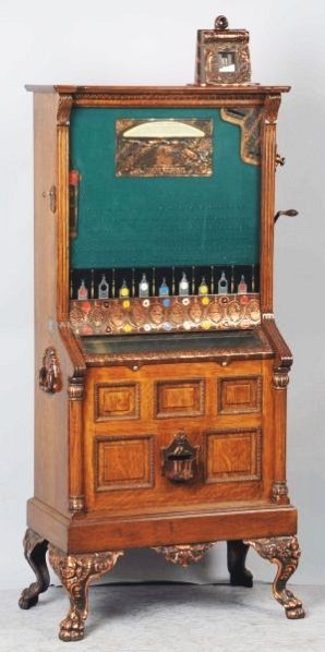 5¢ Caille Bull Frog Slot Machine.