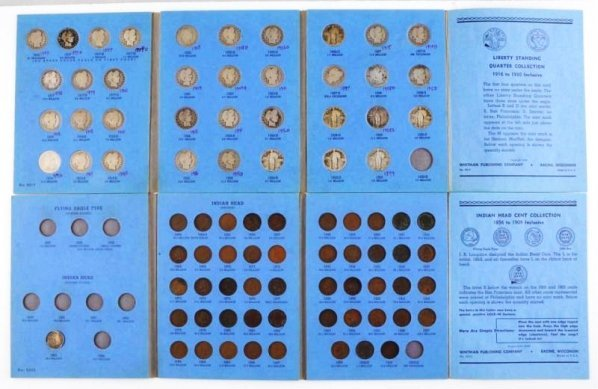 Lot of 6: U.S. Coin Albums.