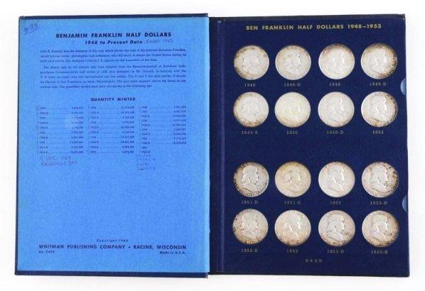 Franklin Half Dollar Collection.
