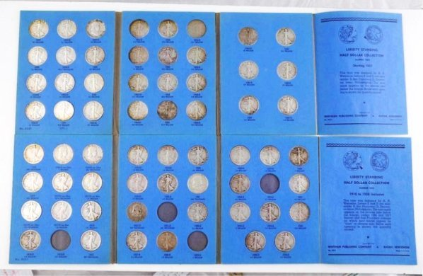 Lot of 2: Half Dollar Collections.