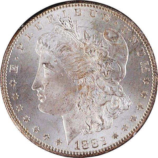 1882-CC Silver Dollar.