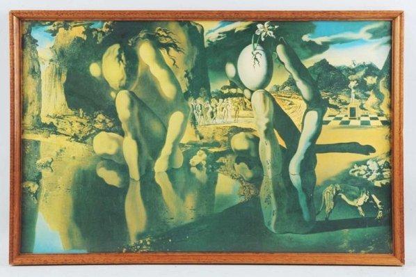 Salvador Dali Print.