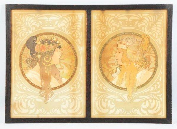 Pair of Alphonse Mucha Prints.