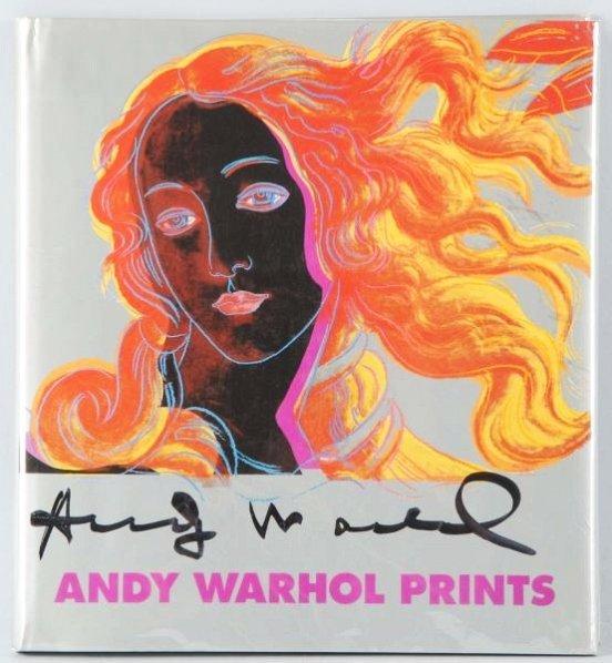 Andy Warhol Prints Book.