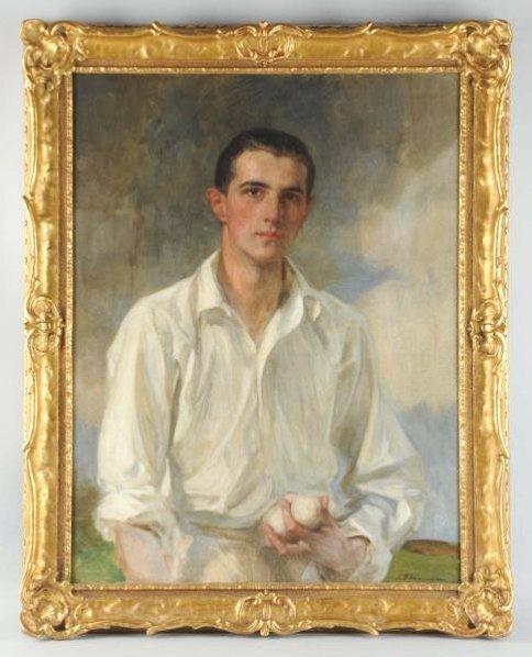 James Jebusa Shannon Tennis Player Portrait.