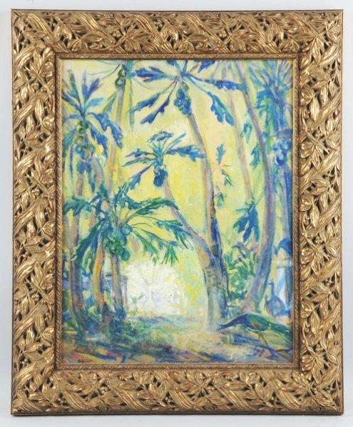 Rachel Hartley Oil on Artist Board.