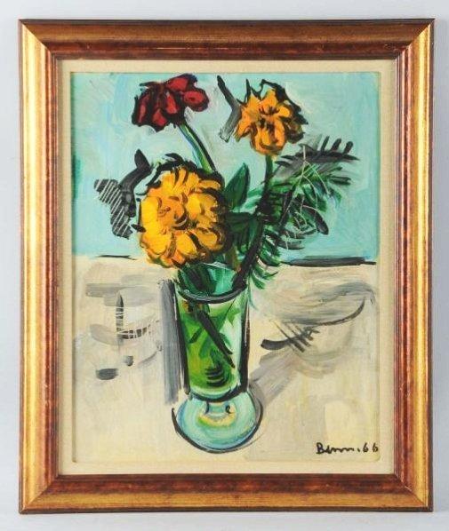Ben Benn Still Life Oil on Canvas.
