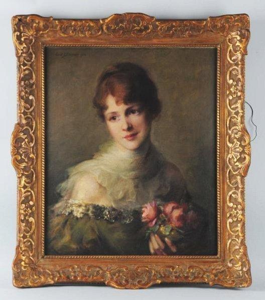 Carle John Blenner Oil on Canvas.