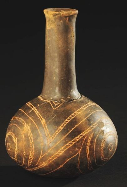 Caddo Pottery Bottle.