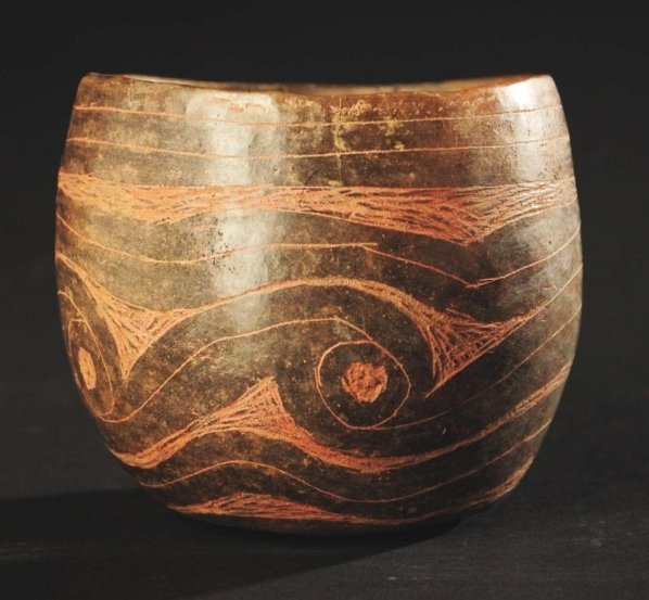 Caddo Incised Cup.