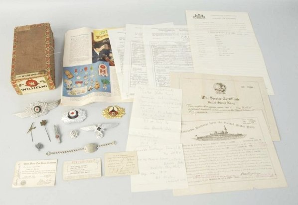 Lot of WWII Military Items.