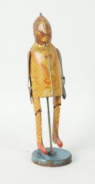American Tin Struttin Sam Windup Dancing Toy.