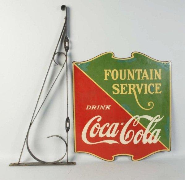 Coca-Cola Hanging Sign.