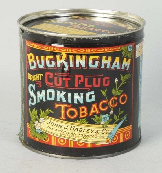 Buckingham Full & Unopened 1lb. Key Wind Tin.