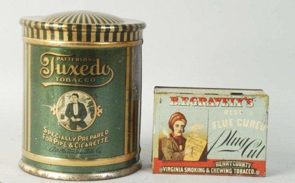 Lot of 2: Tobacco Tins.