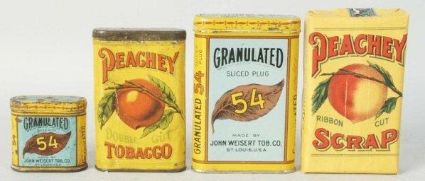 Lot of 2: Peachy & 2 Granulated 54 Items.