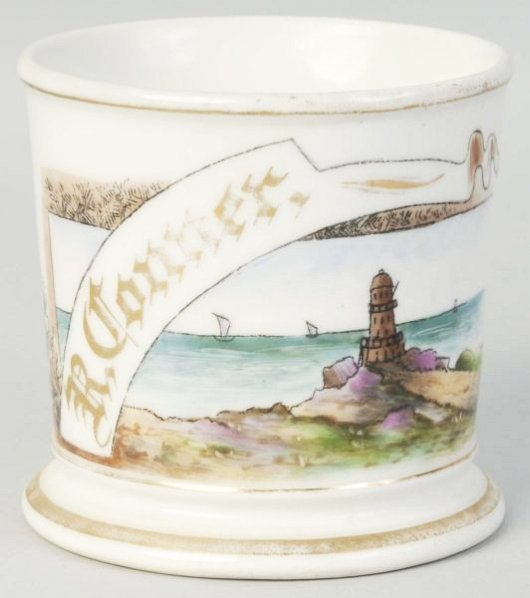 Lighthouse Shaving Mug.