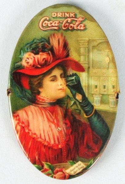 1908 Coca-Cola Pocket Mirror.