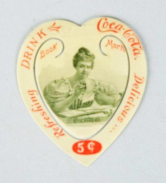1900 Coca-Cola Celluloid Bookmark.
