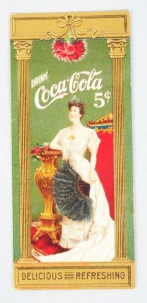 1905 Coca-Cola Bookmark.