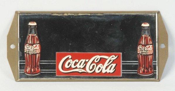 1930s Coca-Cola Mirror Sign.