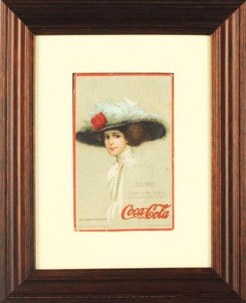 1910 Coca-Cola Post Card.