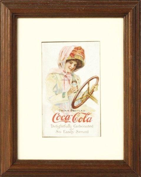 1911 Coca-Cola Motor Girl Postcard.