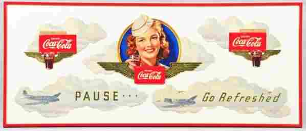 1941 Coca-Cola Rare Aviation Festoon.