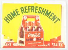 1941 CocaCola Grocery Store Complete Banner Set