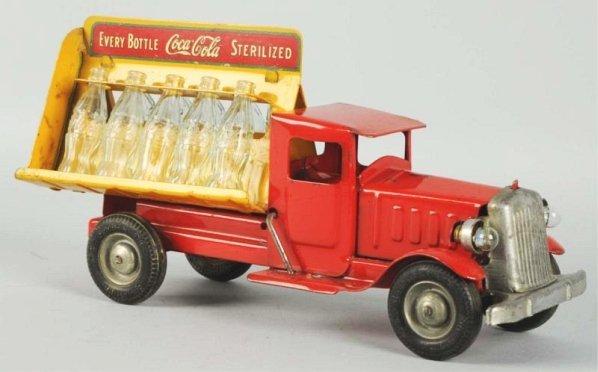 1933 Coca-Cola Metalcraft Rubber Wheel Truck.