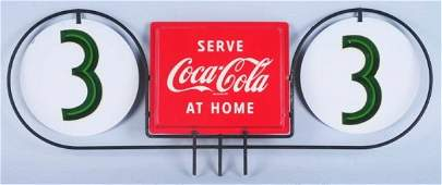 1950s CocaCola Grocery Store Aisle Marker