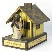 Cast Iron  African American Playing Cards Bank