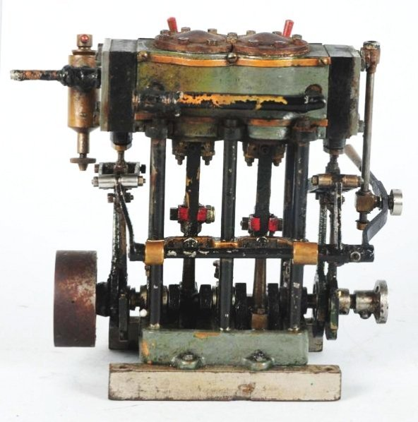 Cast Iron Salesman Sample Model Steam Engine.