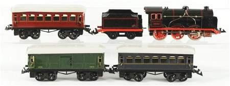 German Bing Passenger Train Set.