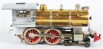 Contemporary Lionel Brass No.7 Steam Type Engine.