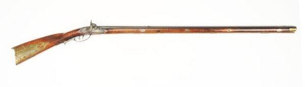 Zachariah Albright Attributed Kentucky Rifle.