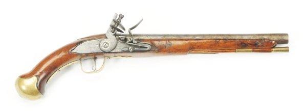 British Cavalry Pistol by Wm Brazier.