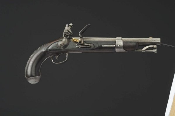 US Single Shot .54 cal. Martial Pistol.